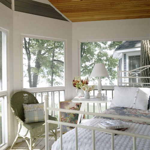 Screened Sleeping Porch : Best images about my bedroom on pinterest harvest