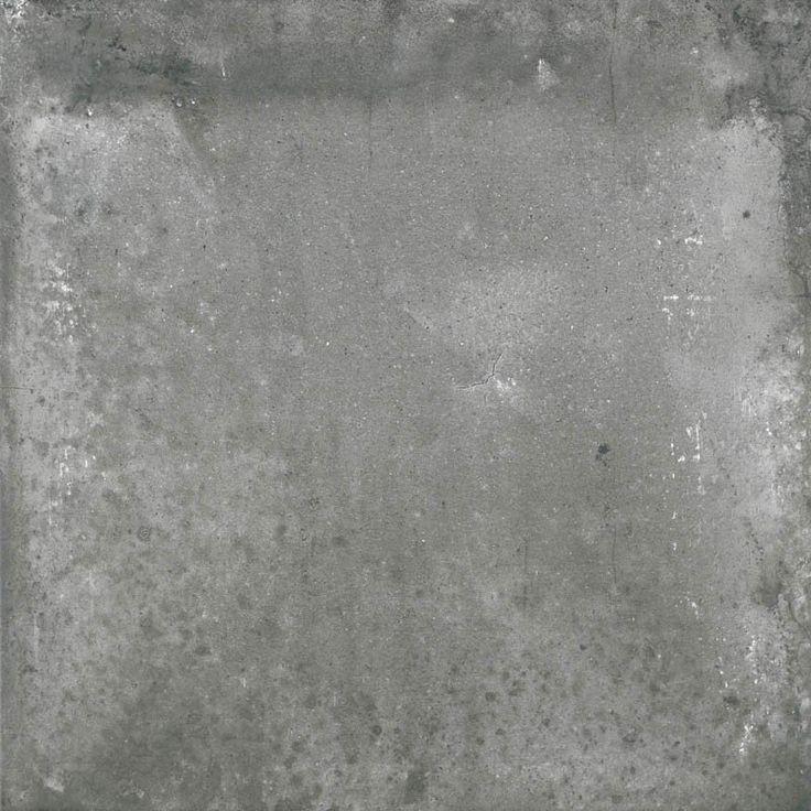 Concrete Effect Form Dark Grey Porcelain Floor Tile
