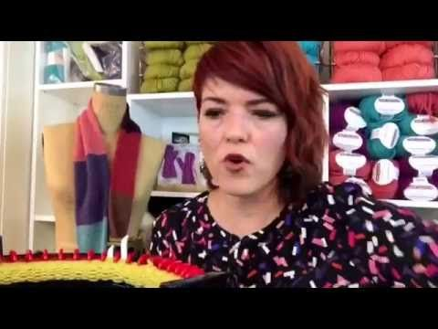 How to Use the Addi Express King Knitting Machine - YouTube