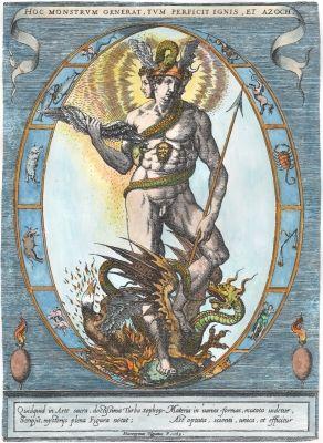 aenorlemusae:     Allegory of Alchemy, Hyeronymus Olgiatus, 1569