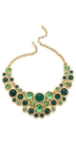 Cabochon Bib Necklace