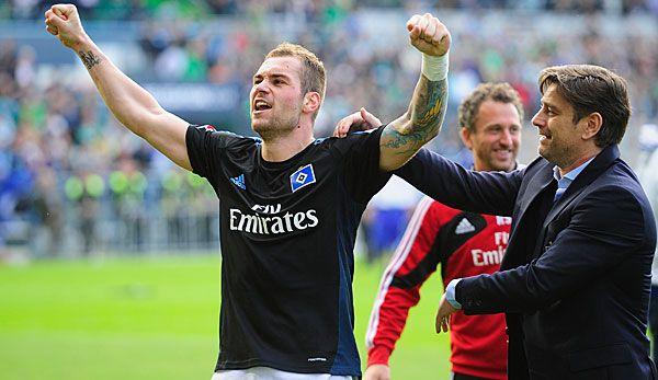 Pierre-Michel Lasogga hatte mit seinem Treffer maßgeblichen Anteil am Hamburger Klassenerhalt - Glückwunsch Lasso, aber reicht jetzt auch mit Hamburg ;) Nächstes Spiel wieder für die Hertha