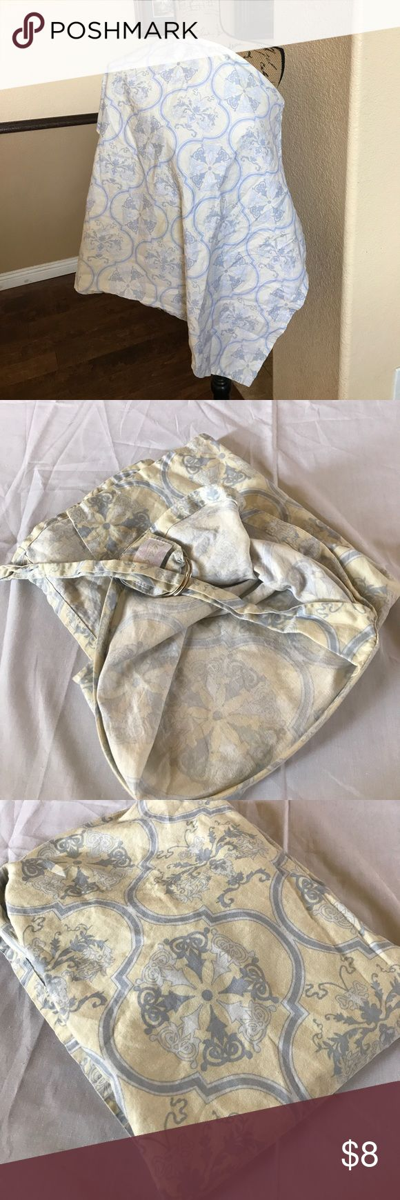 Pre-Loved Breastfeeding Wrap Good condition lots of light left Please see all pictures, and read all info prior to purchasing  If there is an issue with the order, please message me before leaving a negative feedback, I'd like the opportunity to address the issue. I'm committed to my customers and I want you to be satisfied with your purchase.  I'm  1. Smoke Free Home 2. I do have puppies, they are not allowed in my office, but a stray hair may transfer onto me.  3. I will gladly Bundle to…