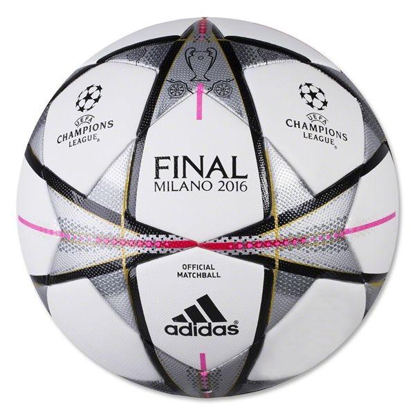 adidas Finale Milano Official Match Ball White/Black/Silver Metallic