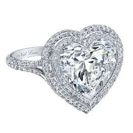 Trendy Diamond Rings :    Neil Lane diamond ring…I dont hate it! i would take a heart shaped diamond! beautiful and unique and different!