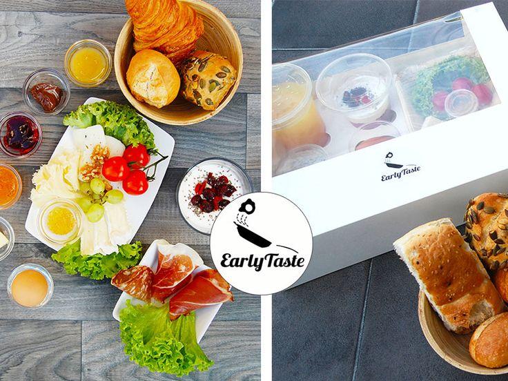 EARLY TASTE - der Frühstück- Lieferservice in Köln und Düsseldorf: Smoothies, frische Brötchen, Rührei, Käse, Schinken, Hummus und mehr. Lieferung innerhalb von 30-45min