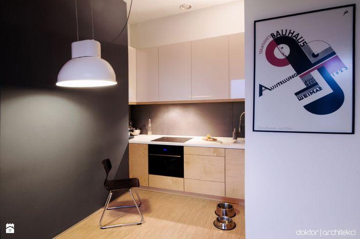 Kuchnia sklejka z lakierem - zdjęcie od doktor architekci - Kuchnia - Styl Minimalistyczny - doktor architekci