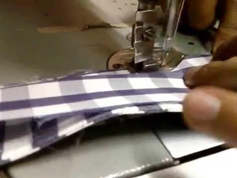 Confección del cuello camisero y pegarlo a la camisa. - YouTube