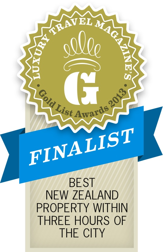 Congratulations to Whare Kea for being a finalist in the Best New Zealand Property Within 3 Hours of the City category !!