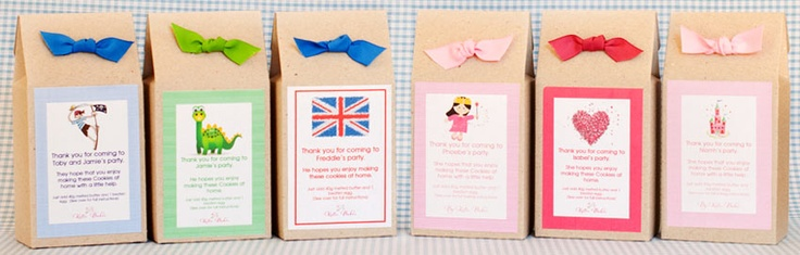 Childrens Party Bags by Katie Bakes