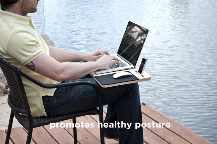 Mobile LAPDESK: The Essential Accessory For Your Laptop-HANDMADE-ECO FRIENDLY   BID NOE.ENDING SOON