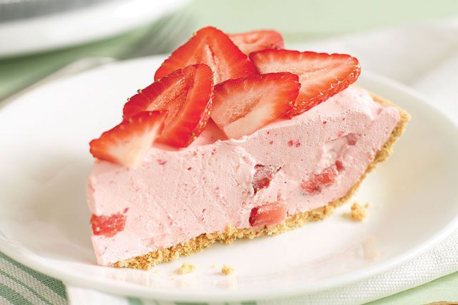 Keep it simple with this COOL 'N EASY Strawberry Pie! This dreamy, creamy easy strawberry pie is light and refreshing with just the right amount of sweetness.