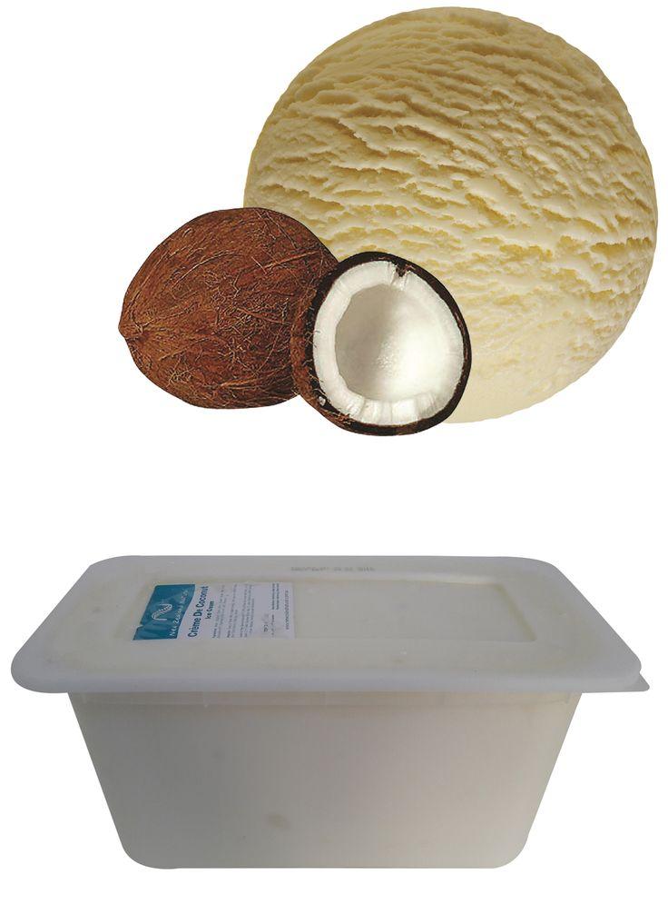 Crème de Coconut - 6L  #coconut #icecream #newzealandicecream #newzealand