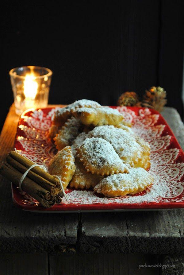 Pane, burro e alici: I caucinetti, i dolci del Natale abruzzese. Li farò anche per carnevale, troppo buoni