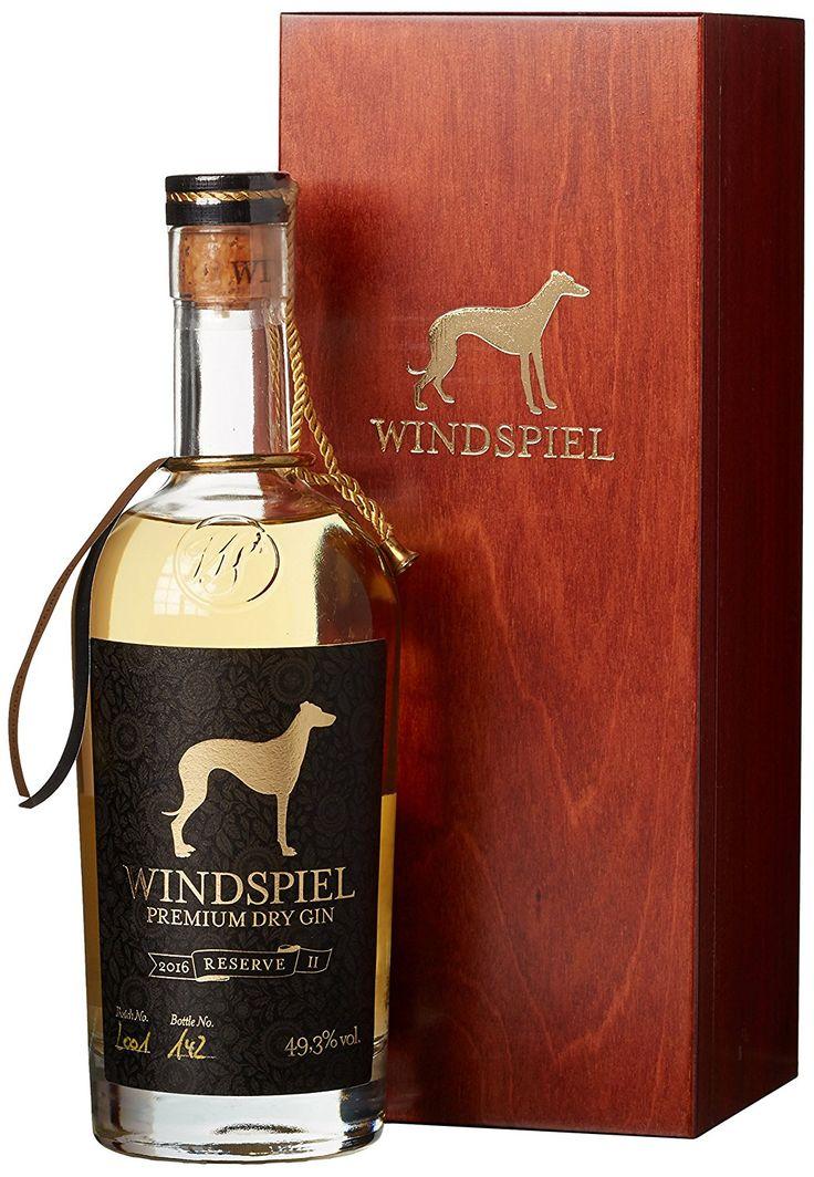 Windspiel Premium Dry Gin Reserve 49,3% 0,5l
