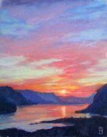 """Sunrise Sonata"" by Michael Orwick Oil ~ 11 x 14"