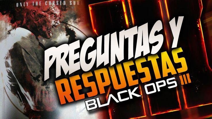 CALL OF DUTY BLACK OPS3!! TODA LA INFORMACIÓN!! Preguntas y Respuestas #1