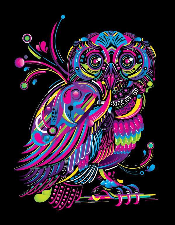 BLOCK OWL by FLY DESIGN STUDIO , via Behance