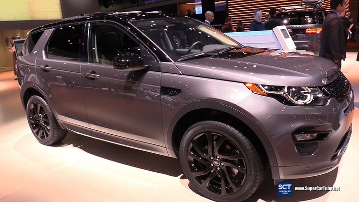 2019 Land Rover Discovery Sport Exterior and Interior