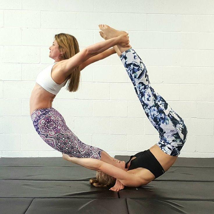Partner Yoga Cool Yoga Poses Hard Yoga Poses Couples Yoga Poses