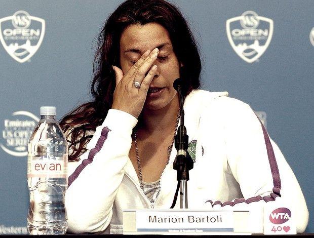 tênis marion bartoli coletiva aposentadoria (Foto: Agência Getty Images)