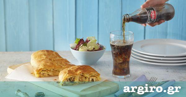 Κοτόπιτα με μανιτάρια αλά κρεμ και τραγανή αφράτη σφολιάτα από την Αργυρώ Μπαρμπαρίγου | Σκέτη μαγεία!