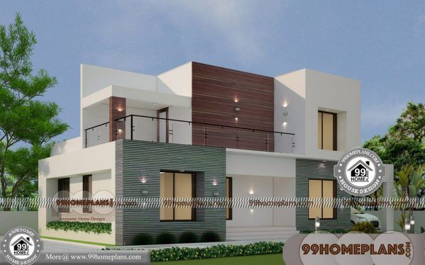 Low Cost Modern House Designs 60 Two Storied House Plans Online 2