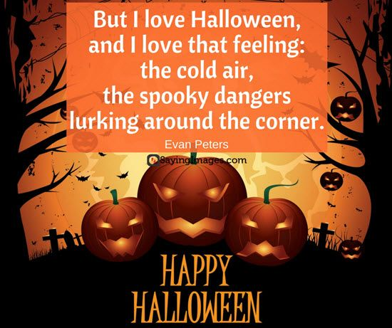 Best Halloween Quotes And Sayings Images, Cards 2016