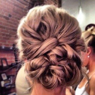 Wedding day hair...