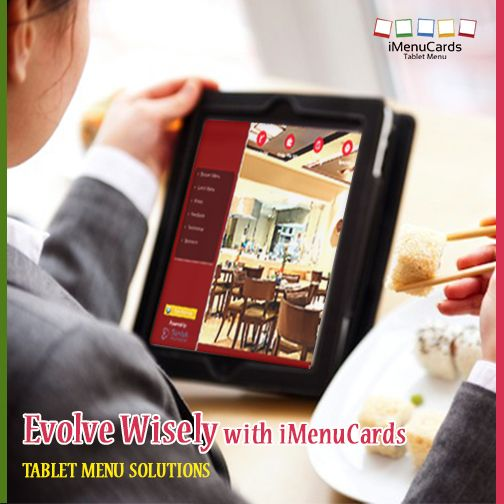 iMenuCards to Impress Your Guests the Right Way! Know more here: www.imenucards.in  #iMenucards #TabletMenu