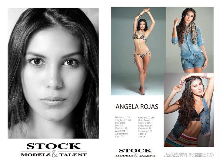Angela Rojas - Modelo Stock Models -