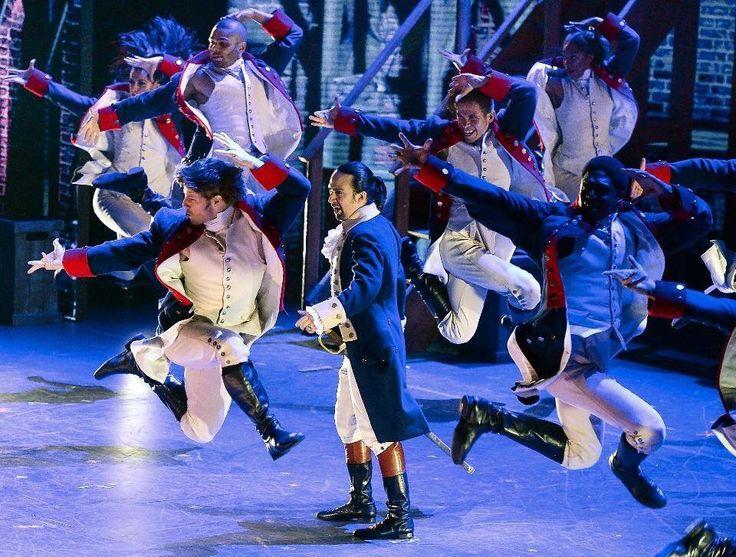 Astounding. - The Cast of Hamilton performing at the Tony Awards