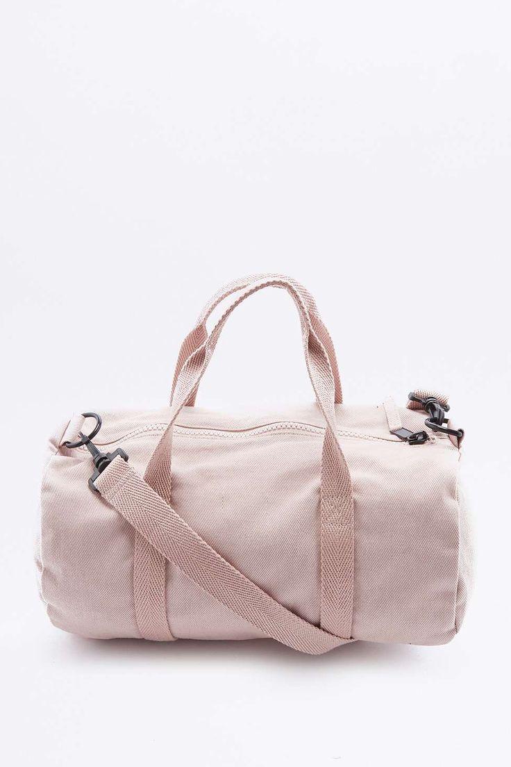 BDG Mini Pink Canvas Gym Bag