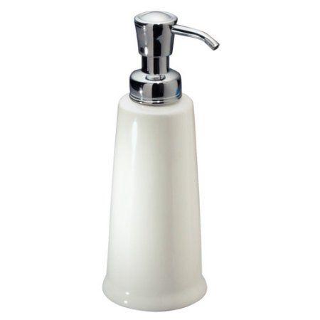 Interdesign York 2 Sink Soap Pump White Products