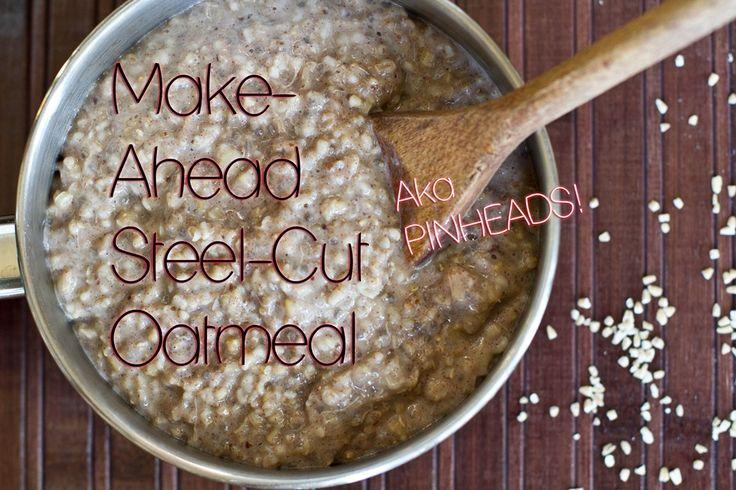 steel-cut oatmeal