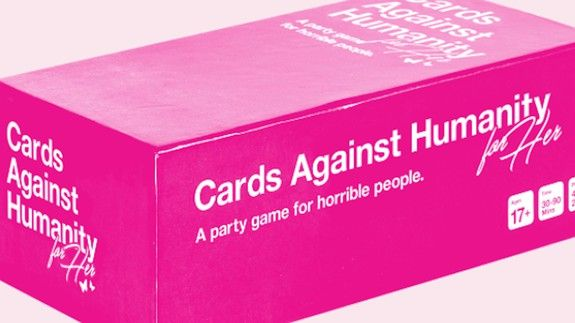 Cards Against Humanity trolls us all with special 'For Her' edition ... for laughs I guess?