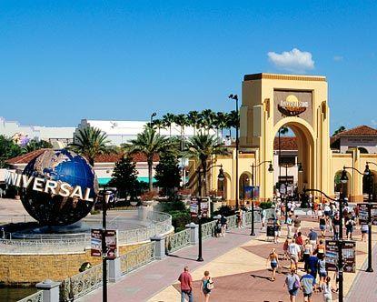 Universal Theme Park- Orlando