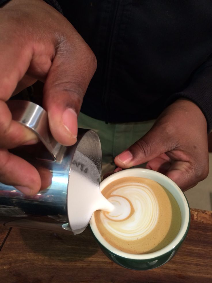 Latte art #tribecoffee www.tribecoffee.co.za