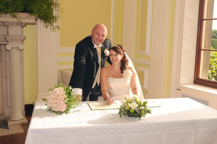 One of my recent bride & grooms signing the register at Normanby Hall, nr Scunthorpe, North Lincolnshire. To contact me or see more images please go to my website www.eddienolanphoto.com or my Facebook page www.facebook.com/EddieNolanPhoto. Thanks Eddie