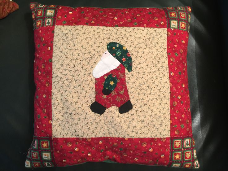 Cuscino con Babbo Natale