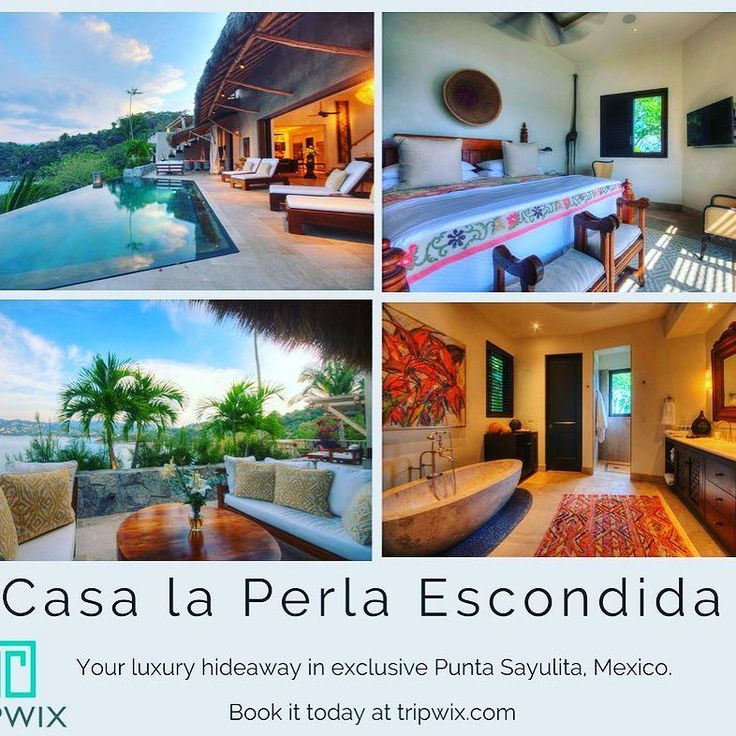 Casa la Perla Escondida in Punta Sayulita is the best of the best! With nothing but a crystal-clear infinity pool between you and the ocean this incredible family home is first-class in every respect. . .