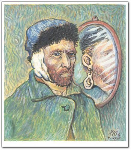 Ear Van Gogh See More Mirror Medium