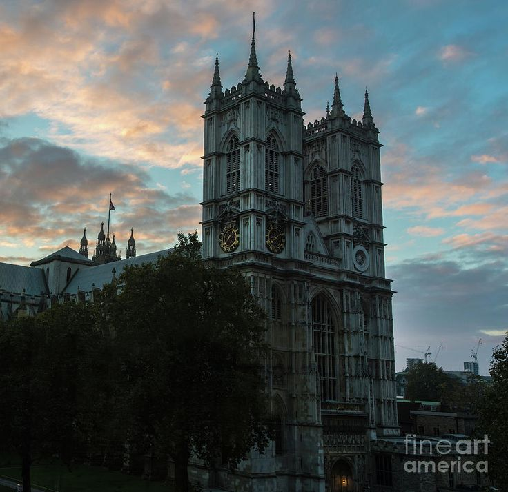 Westminster Abbey Dawn Light Photograph by Mike Reid