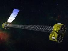 NASA's NuSTAR telescope launched in June 2012, observed the high-energy portion of the X-ray light spectrum emitted by the supermassive blackhole dubbed PDS 456,  an extremely bright black hole known as a quasar more than 2 billion light-years away, sustaining winds that carry more energy every second than is emitted by more than a trillion suns.
