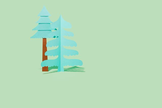 LOFT - Paper crafted animated gifs on Behance