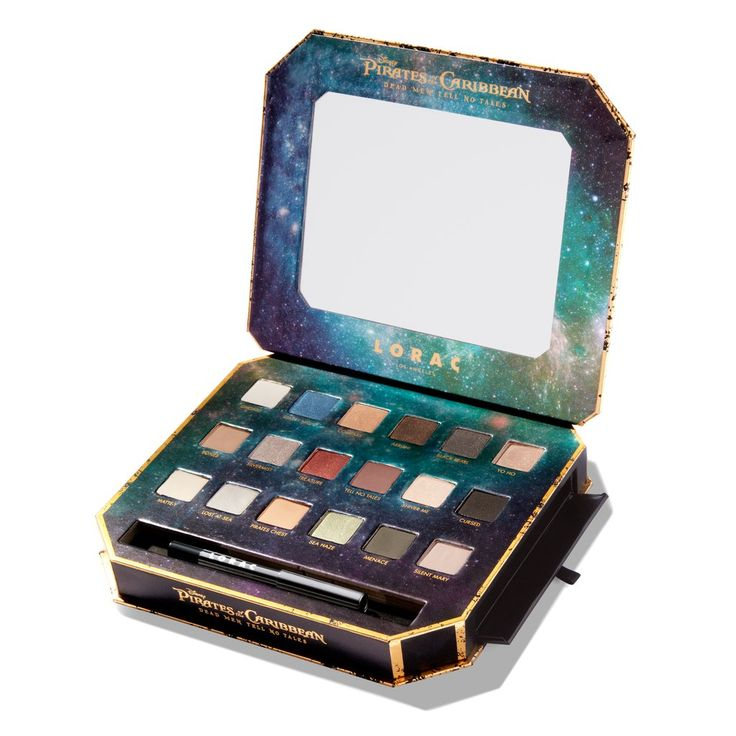 Lorac Cosmetics Pirates of the Caribbean Collection -Lorac x Pirates of the Caribbean Eye Shadow Palette  | POPSUGAR Beauty