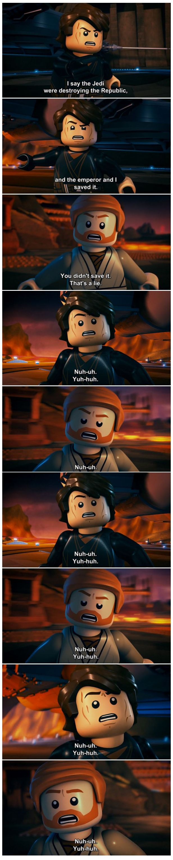 The Lego Star Wars version of Mustafar