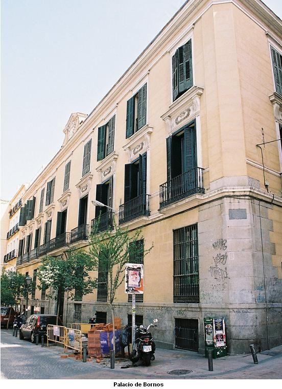 Palacio del duque de Bornos  Madrid & Spain  Pinterest