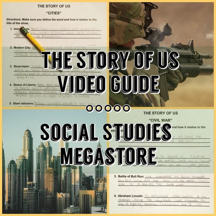 I like to show these episodes at the end of each unit while teaching my US History class. These episodes cover from the Rebels to the Millennium Era. It includes a note taking guide for students, my teacher notes, mini quiz, and discussion questions.