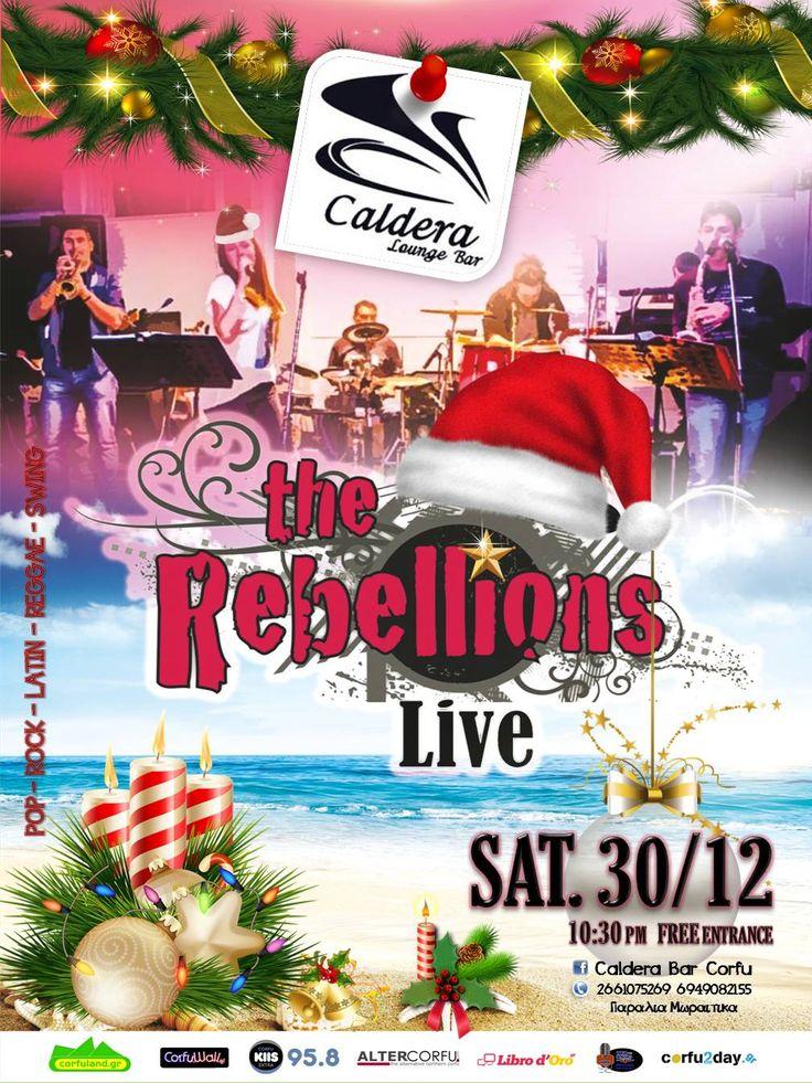 Το Σάββατο 30 Δεκεμβρίου, το Caldera Bar Corfu στα Μωραϊτικα σας ετοιμάζει ένα ακόμα ξεσηκωτικό live. Διαβάστε περισσότερα...